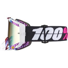 100% Racecraft Anti Fog Mirror Lunettes de protection, glitch